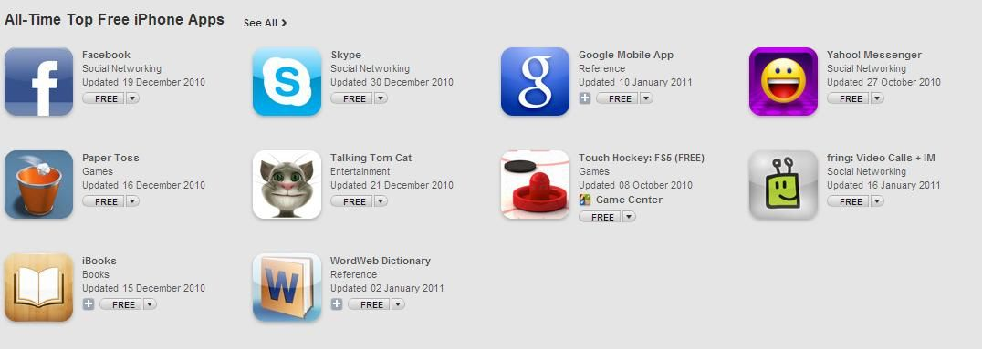 top-10-free-iphone-apps