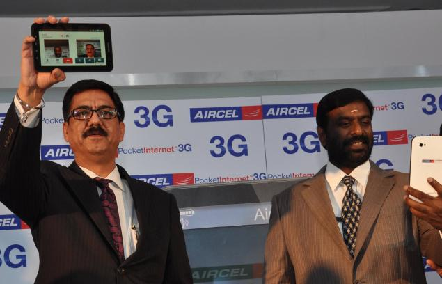 aircel-3g-launch