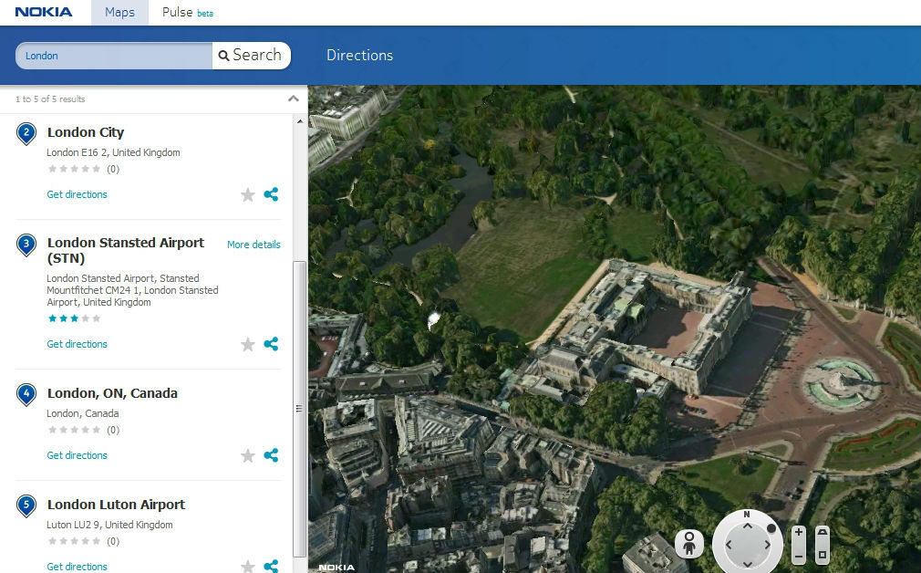 Nokia-3d-maps-London