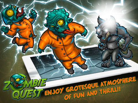 Zombie Quest Game