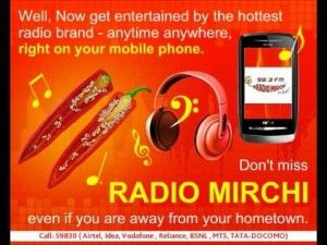 radio mirchi on mobile