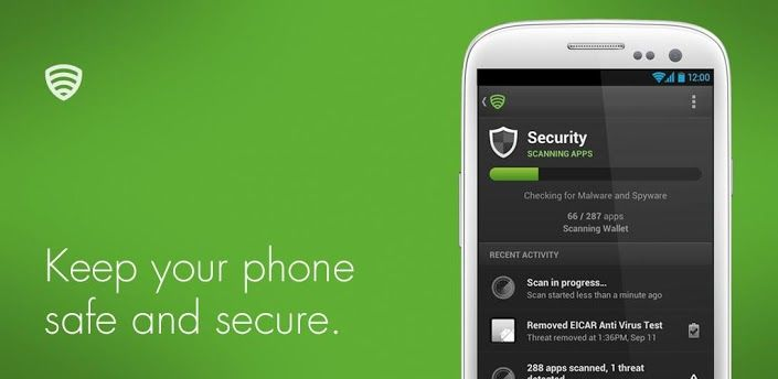 Lookout Mobile Security app