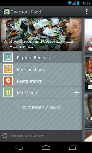 Evernote Food Features