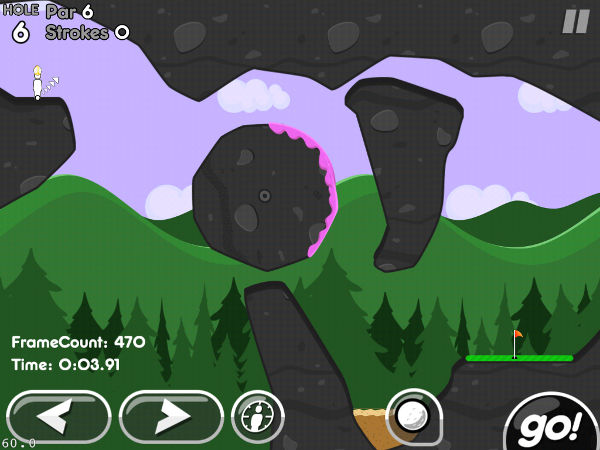 Super Stickman Golf 2 Graphics