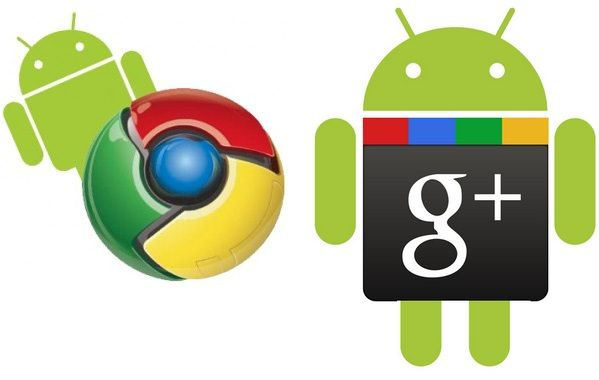 Google Chrome And PLus apps