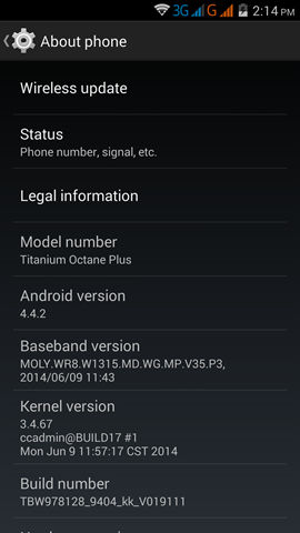 Karbonn Titanium Octane Plus screenshot (8)