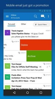 Microsoft Outlook Preview 1