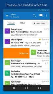 Microsoft Outlook Preview 2