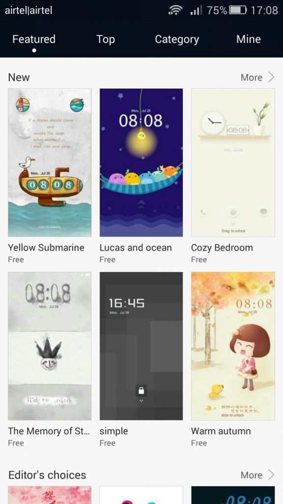 Honor 4C_Themes