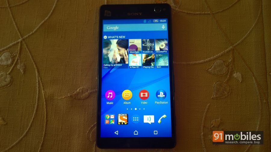 Sony Xperia C4 first impressions 01