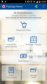 PayZapp by HDFC bank 2