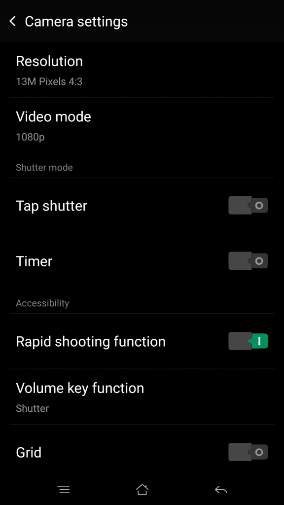 OPPO R7 Plus_camera settings