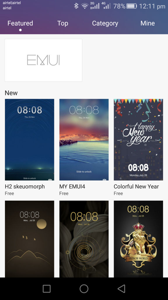 Honor 5X_themes
