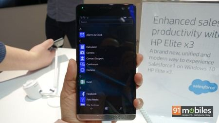 HP Elite X3 first impressions 16