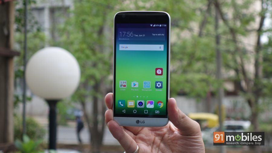 LG G5 review - 91mobiles 01