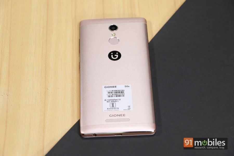 Gionee S6s unboxing and first impressions 10