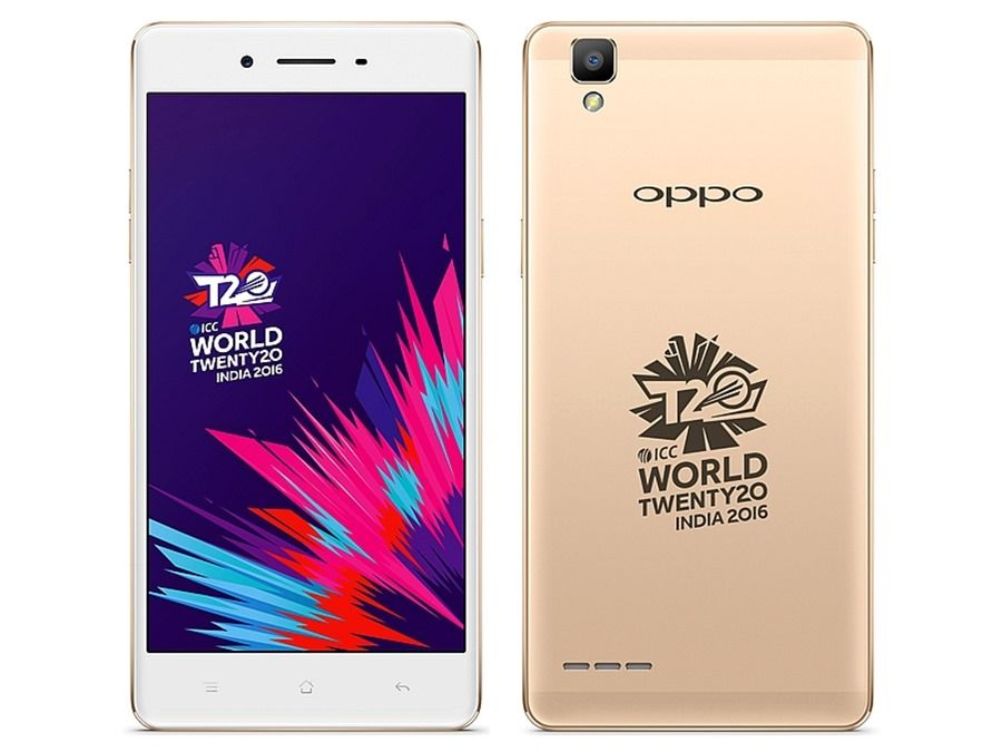 OPPO F1 ICC WT20 edition