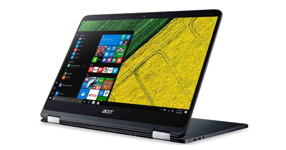 acer spin 7 windows 10 convertible launched in india for rs 1 09 000. Black Bedroom Furniture Sets. Home Design Ideas