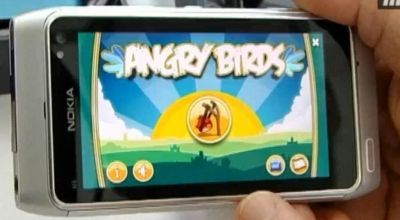 Angry Birds – Now on Symbian^3 | 91mobiles com