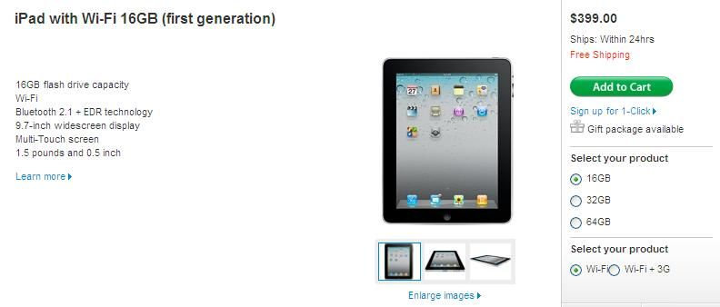 ipad-first-generation-price