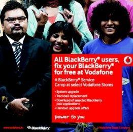 Blackberry-service campign