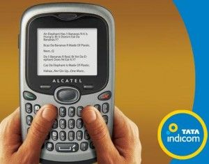 Tata-Indicom-Alcatel-OT-255C