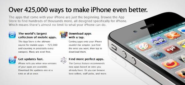 Apple App store tops with 15 billion downloads | 91mobiles com