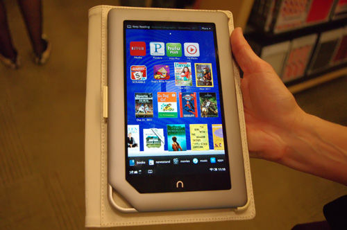 Barnes & Noble Unveils the Second Generation Nook Tablet