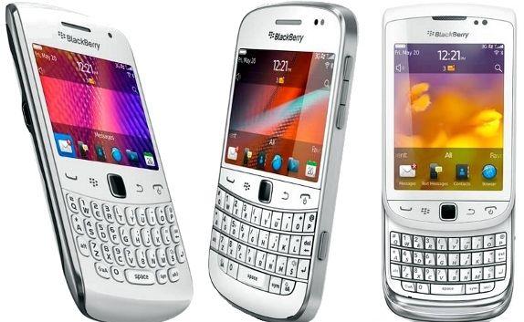 BlackBerry-in-White