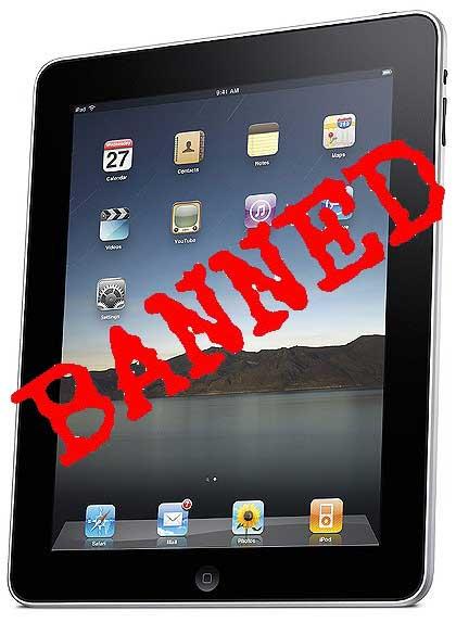 iPad-banned