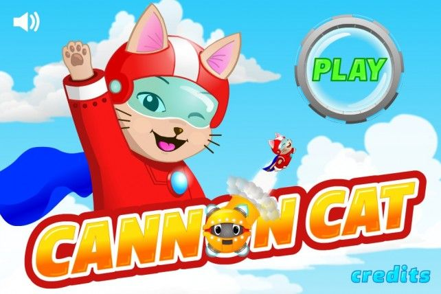 Cannon Cat Game