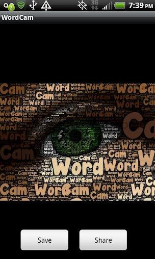 Create Art With WordCam