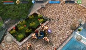 Graphics of Dungeon Hunters 3