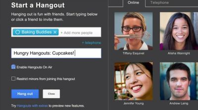 Google launches Hangouts on Air for Google+ Android app | 91mobiles com