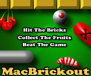 MacBrickout Gamee