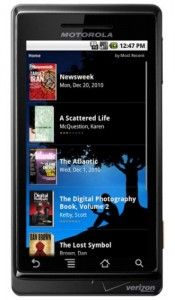 android app - kindle for android
