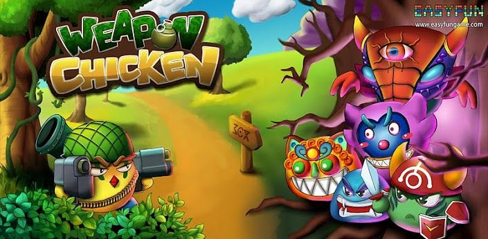 Weapon Chicken Android Game