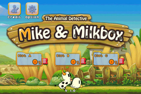 Mike and Milkbox Game