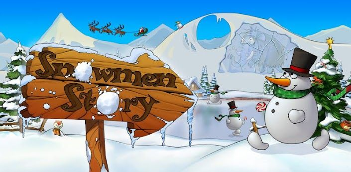 Snowmen Story Game