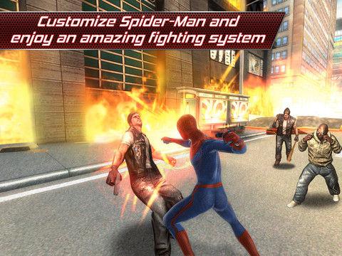 Amazing Spiderman Scenes