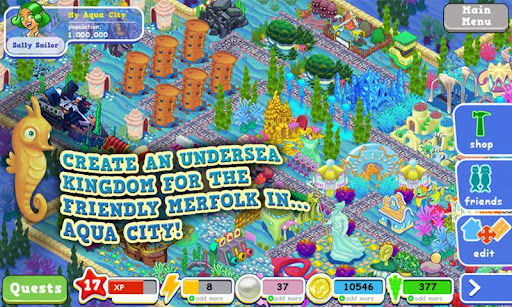 Aqua City Graphics