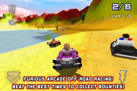 Bounty Racer Graphics
