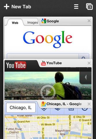 Chrome on iPhone