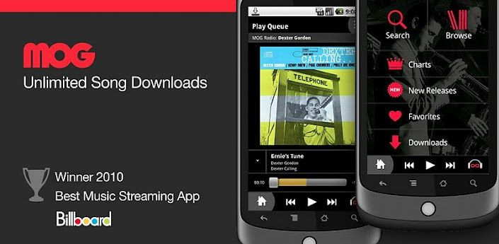 MOG Music App