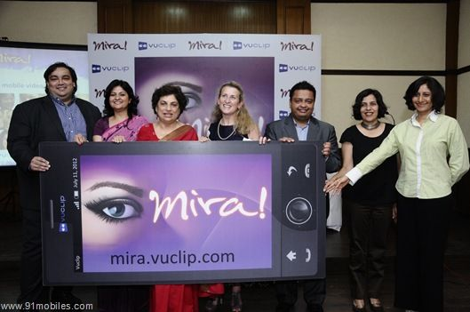 Minister launching Mira mobile channel