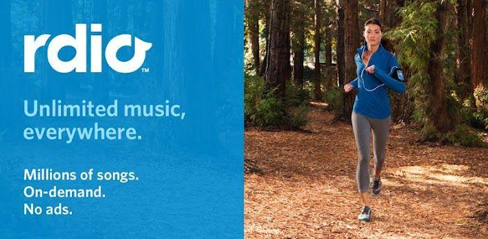 Rdio Music App