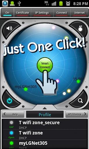 Smart WiFi App Interface