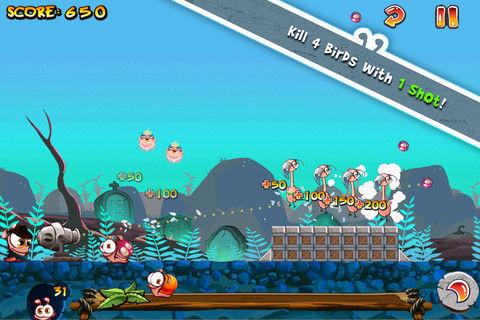 Worms vs birds Graphics