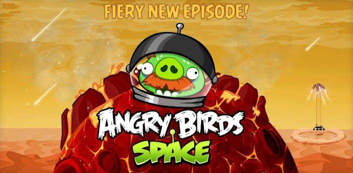 Angry Birds on Mars