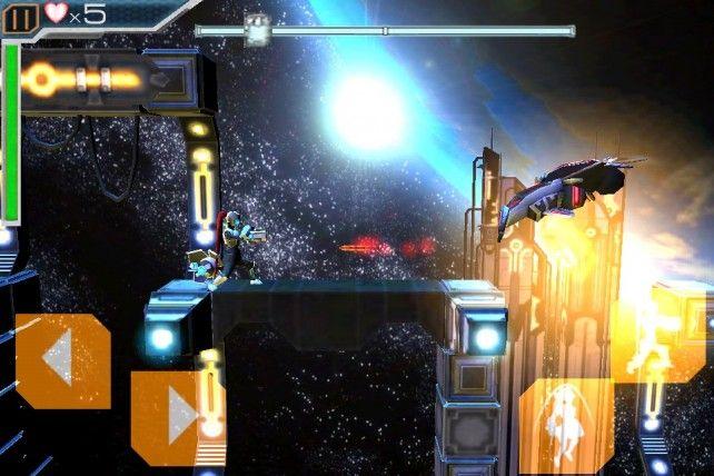 Megatroid Game Graphics